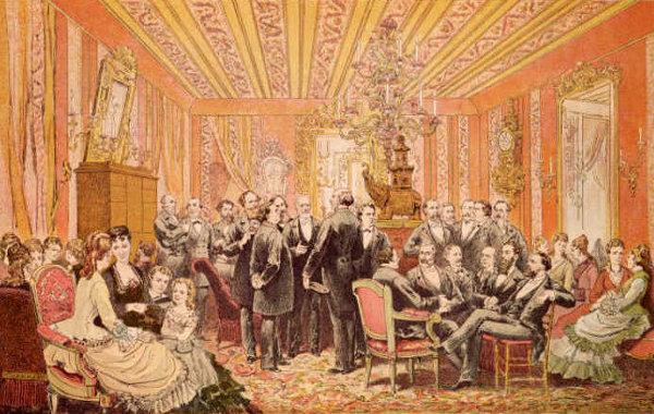 Victor Hugo's Salon