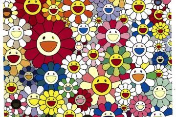 Takashi Murakami - Flowers from the Village Pontokan