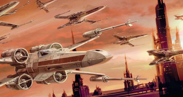 X-wing art