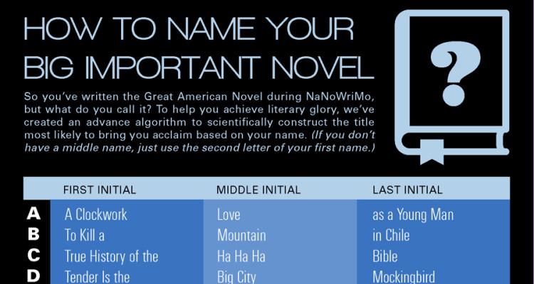 literary novels