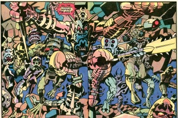 Jack Kirby aliens