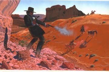 western gun shots