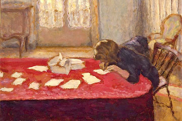 Young Woman Writing, 1908