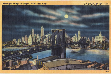 brooklyn postcard