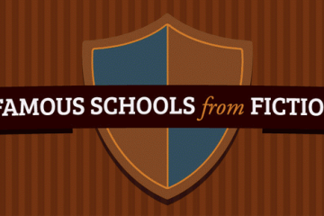 famous schools from fiction