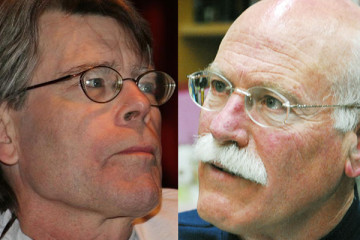 Stephen King and Tobias Wolff