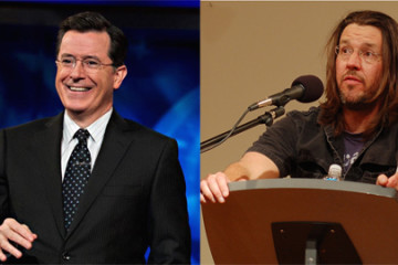 Stephen Colbert and David Foster Wallace