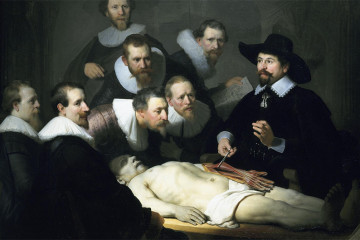 The Anatomy Lesson of Dr Tulp, Rembrandt