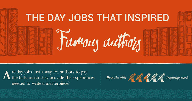 The Day Jobs That Inspired Famous Authors