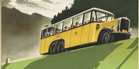 Swiss School Bus