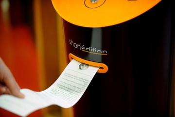 short edition vending machine