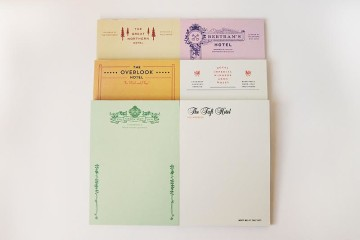 fictional hotel notepads herb lester