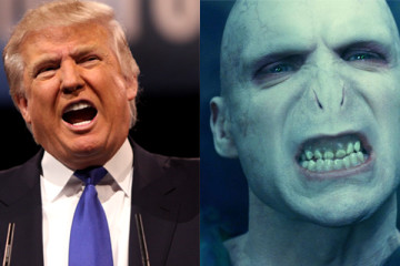 Harry Potter and Donald Trump