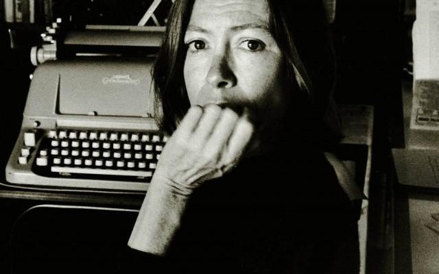 Joan Didion writing