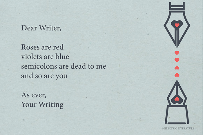 writing valentine