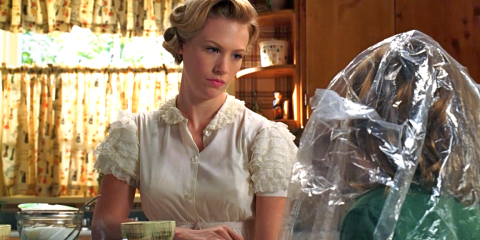 Betty Draper bad mother